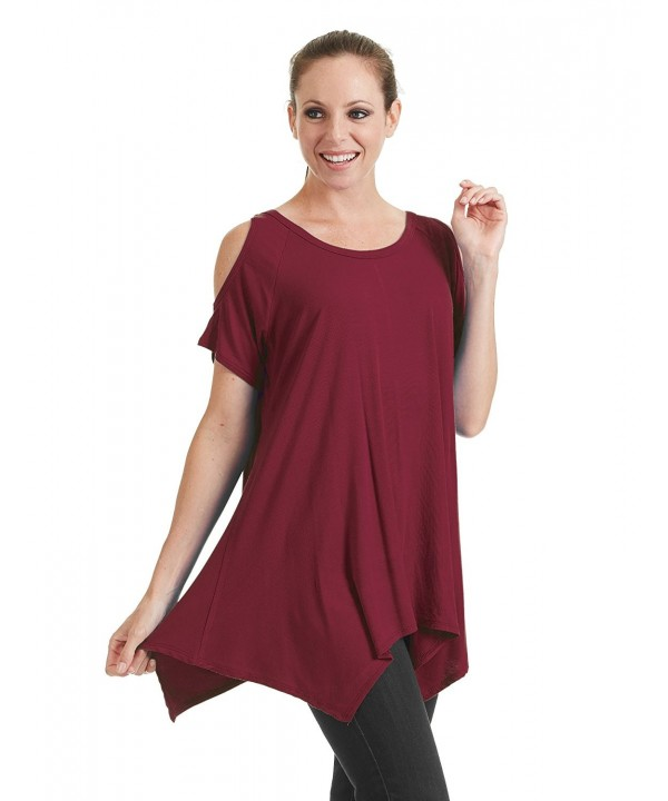 WT1070 Womens Round Sleeve Shoulder