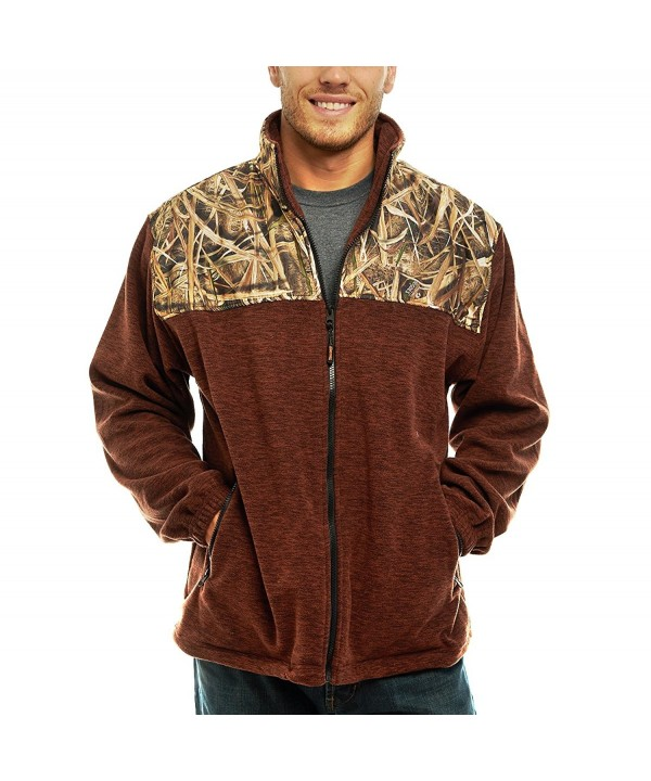 TrailCrest Fleece Jacket Shadow Blades