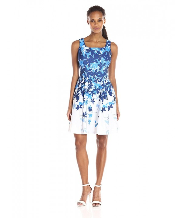 Julian Taylor Womens Floral Printed