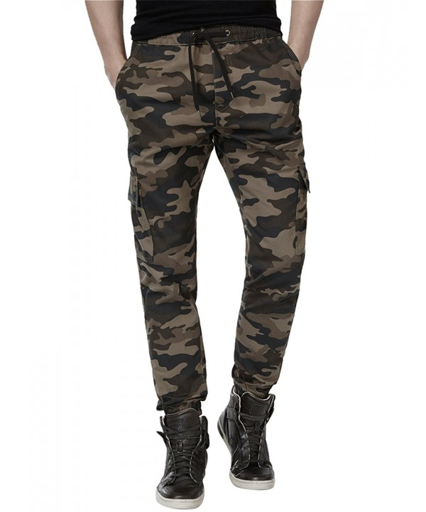 ADFOLF Joggers Camouflage Trousers Regular