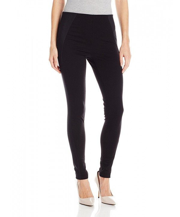 HUE Womens Waist Illusion Leggings