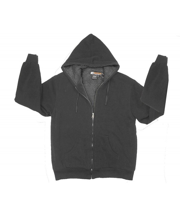 Womens Apparel Sherpa Hoodie Charcoal