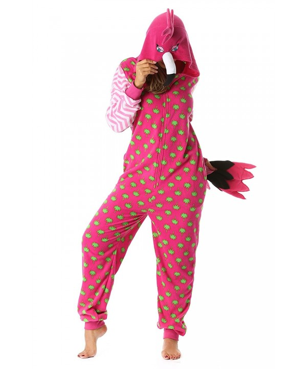 Just Love Onesie Pajamas Flamingo
