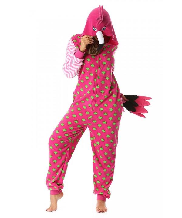 Just Love Onesie Pajamas Flamingo