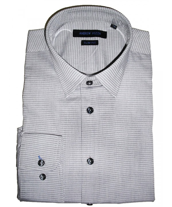 Andrew Fezza Check Dress Shirt