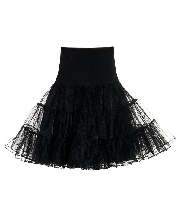 Mefezi Vintage Rockabilly Petticoat Underskirts