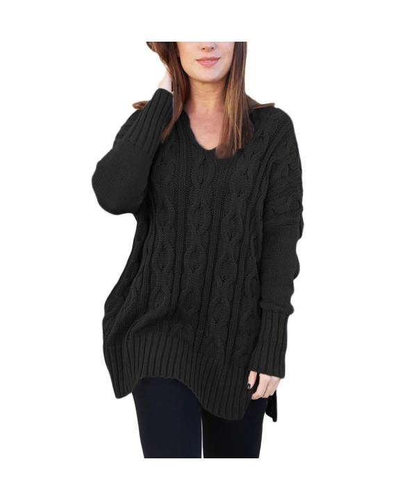 Domy Womens Sweater Oversized Pullover