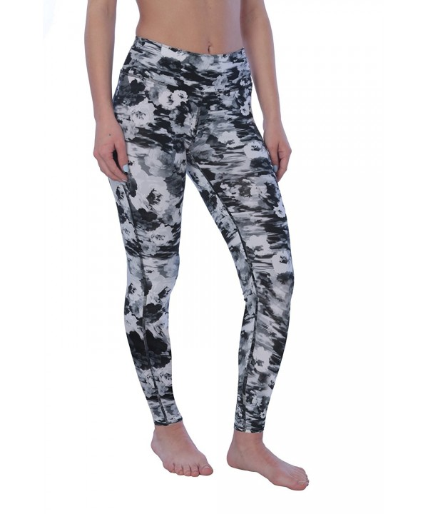 Active Club Printed Full Length Leggings