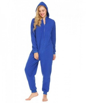 Langle Pajamas One Piece Sleepwear Jumpsuit