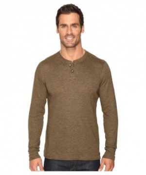 Hot Chillys DOUBLE HENLEY HEATHER
