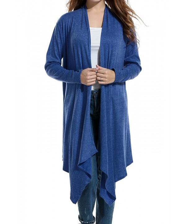 Zeagoo Womens Sleeve Cardigan Sweater
