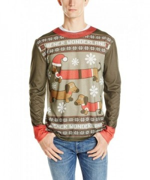 Faux Real Wonderland Christmas Sweater