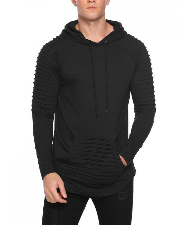 COOFANDY Hoodies Pullover Hooded Sweatshirt