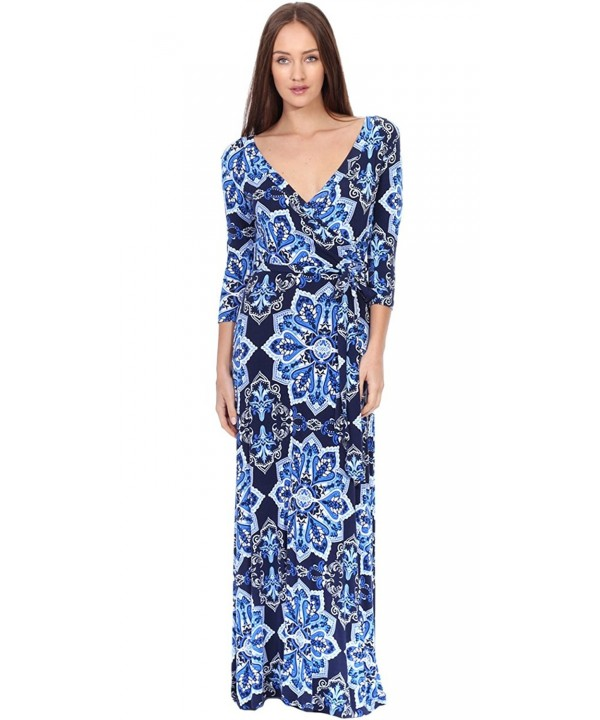 Popana Faux Wrap Dress Sleeves