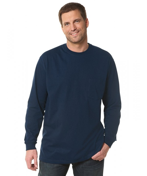 Harbor Bay Long Sleeve Pocket Wicking