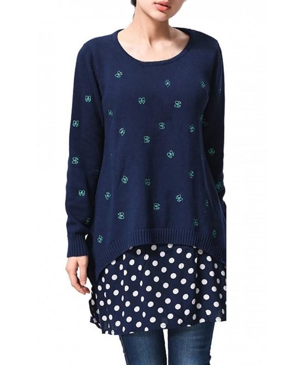 Leegoal Women Oversized Dress Ladies Knitted Baggy Sweater Knit ... 5c76e36d9