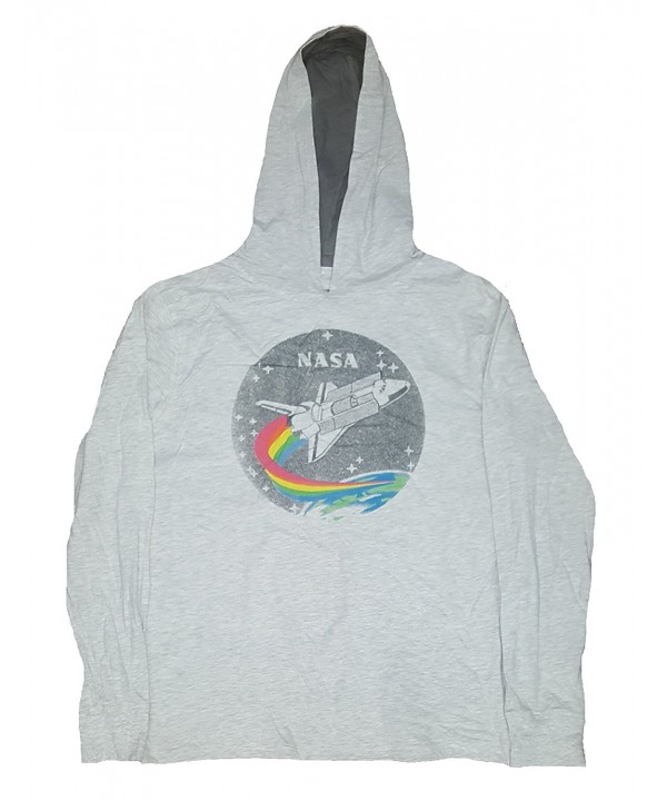 NASA Graphic Lightweight Pullover Hoodie