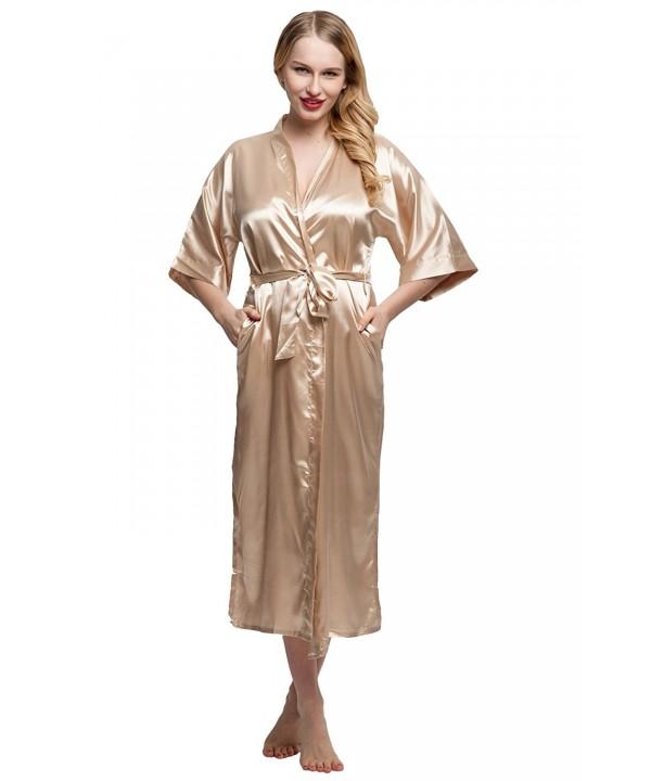 ExpressBuyNow Womens Kimono Color yellow