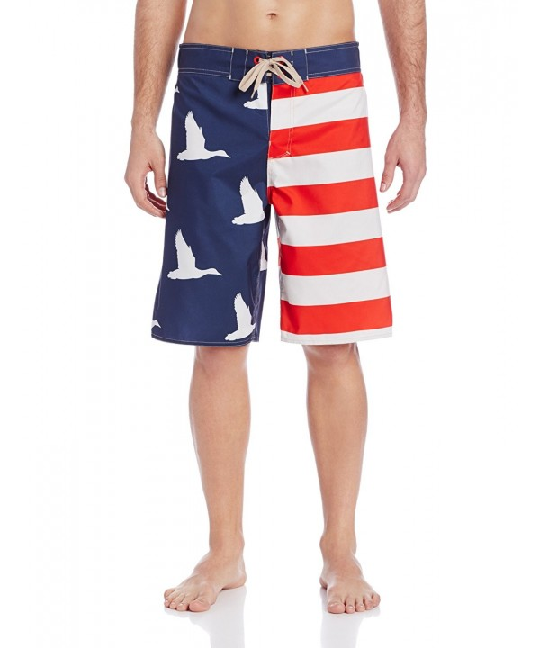 Duck Dynasty Mens Americana Boardshort