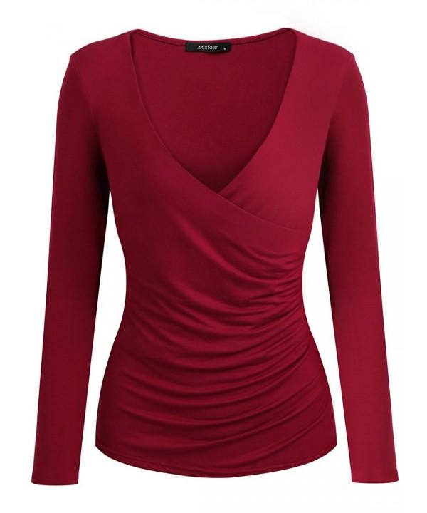 Mixfeer Womens Sleeve T Shirt Pullover