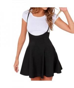 JAN1ST Womens Suspender Skirts Versatile