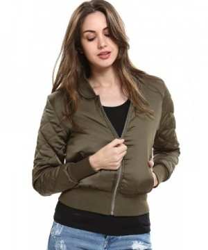 Escalier Women Bomber Quilted Classic