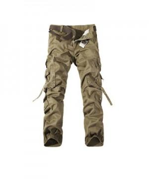NiuZi Cotton Casual Multi Pocket Camouflage
