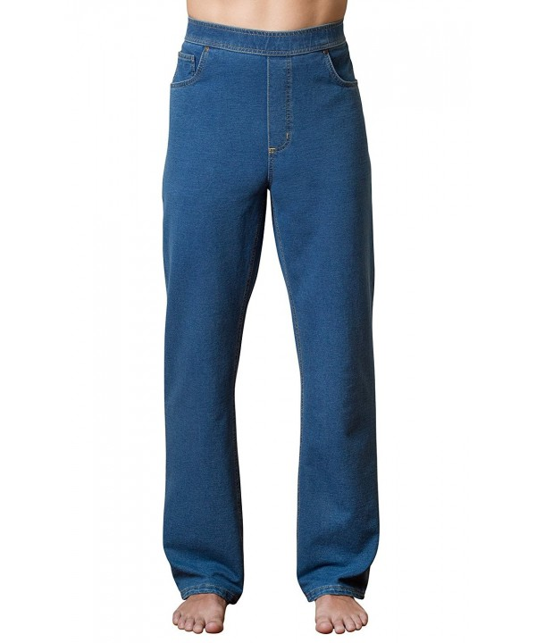 PajamaJeans Straight Denim Jeans Pacific