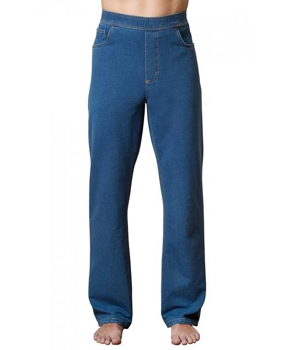 PajamaJeans Straight Denim Jeans Pacific