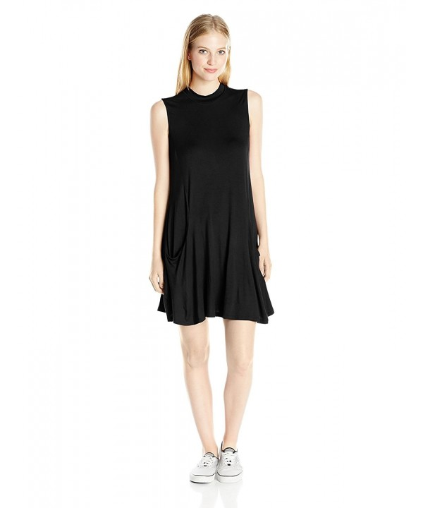 Trixxi Juniors Solid Swing Dress