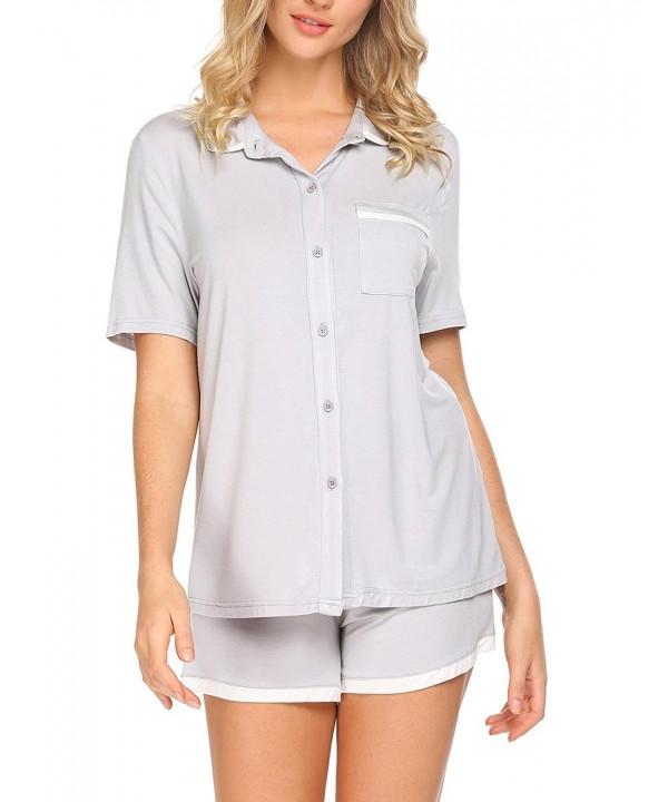 Ouyilu Womens Sleepwear Sleeve Pajama