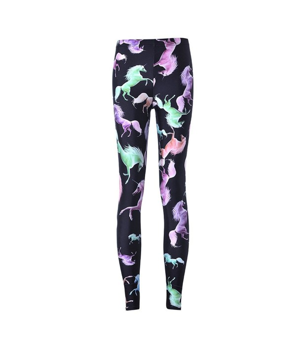 VWU Digital Printed Leggings Unicorn