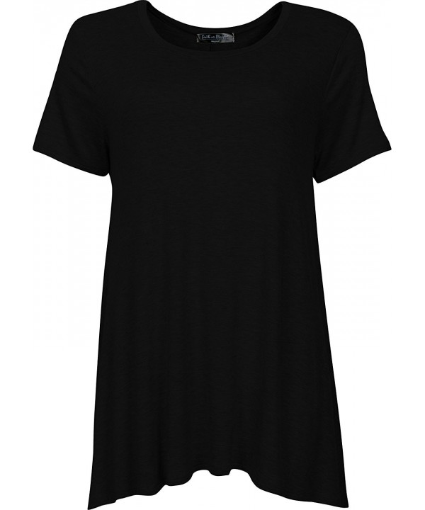 Faith Flower Sleeve Casual T Shirt
