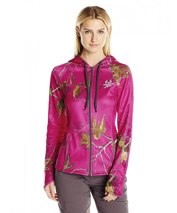 Realtree Womens Fleece Hoodie Fuchsia