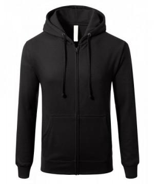 Sleeve Lightweight Zip up Hoodie Pocket