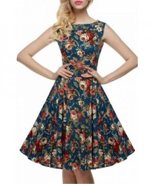 Babyonline Floral Printed Hepburn Dresses