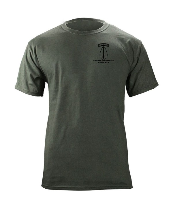 Special Operations Command Veteran T Shirt