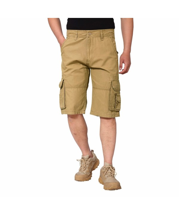 EKLENTSON Tactical Shorts Casual Cotton