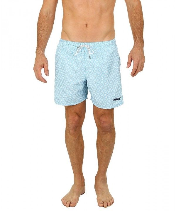 UZZI Mens Malibu Swim Trunks