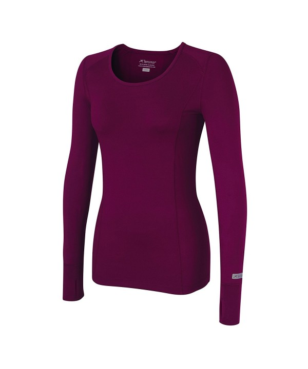 Terramar Womens Stretch Brushed Sleeve