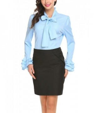 Hersife Career Fitted Ruffle Stand Up