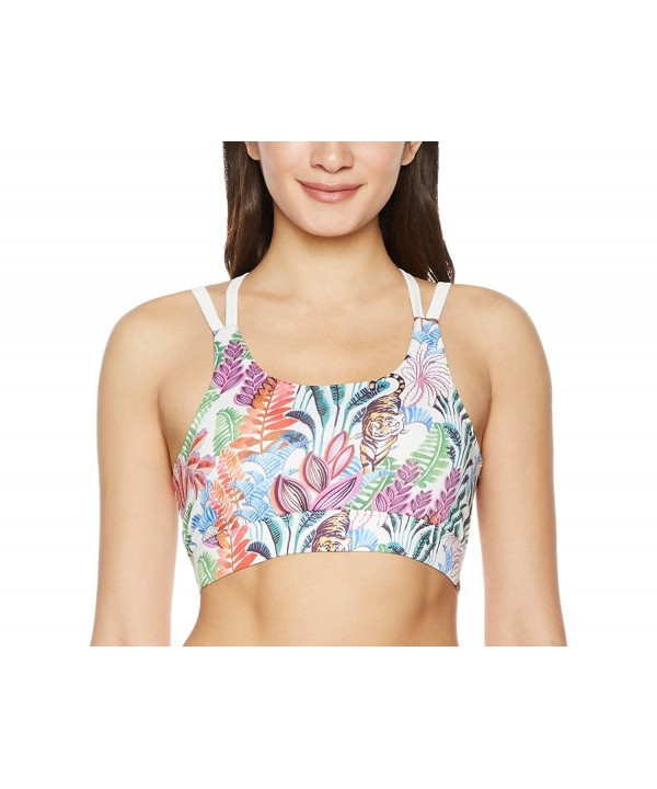 7Goals Womens Printed Tropical Strappy