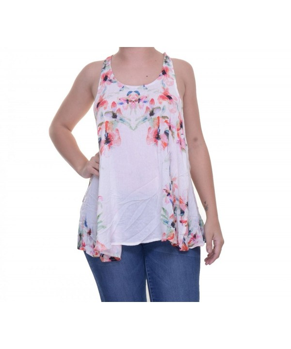 Free People Womens Criss Cross Floral