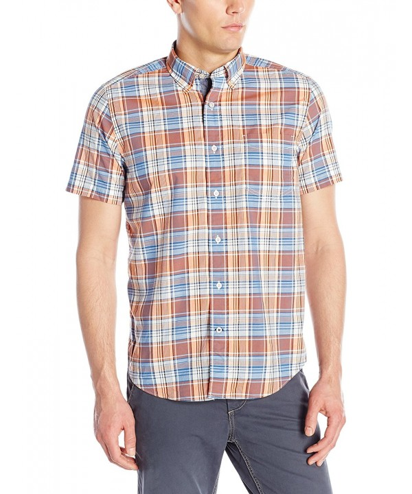 Nautica Plaid Short Sleeve Shirt Fireside