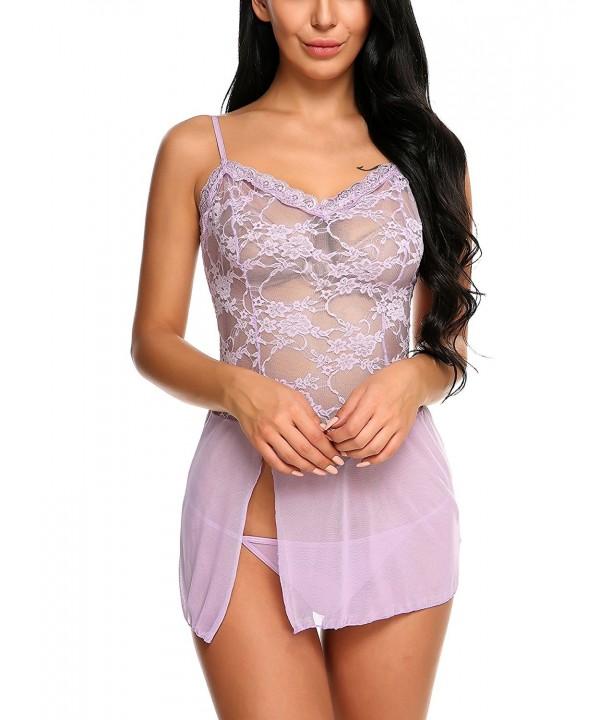 Avidlove Lingerie Sleepwear Babydoll Bodysuit