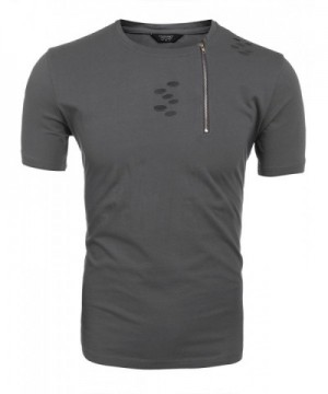 COOFANDY Design Casual Sleeve T Shirt