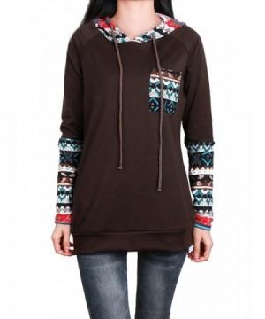 Anna Smith Geometrical Drawstring Sweatshirt