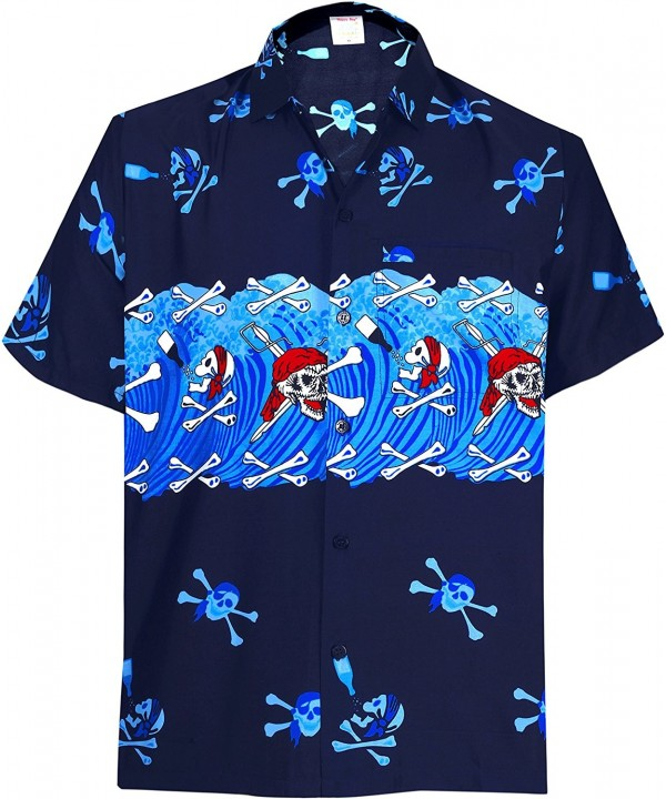27895f34 Men Aloha Hawaiian Shirt Short Sleeve Button Down Beach Halloween ...