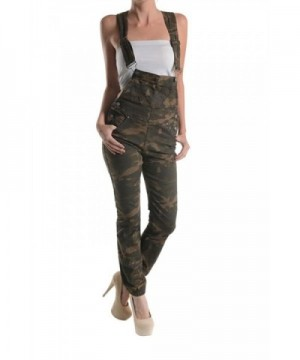 G Style Womens Print Overalls RJHO147A