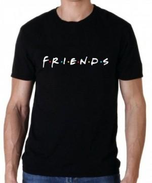 Uzair Friends T Shirts Black Medium